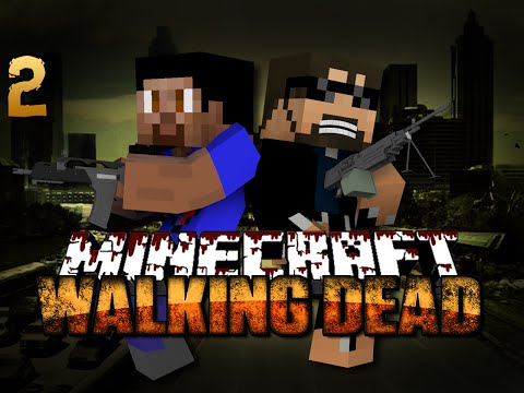 Minecraft Walking Dead Mod 2 – DEADLY COMPETITION(Walking Dead Series)