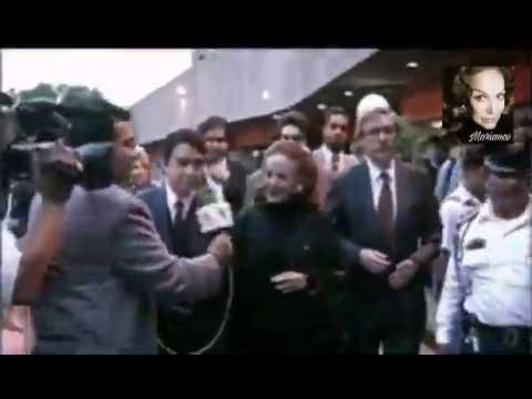 Fragmento de María Félix en la Cineteca Nacional 1997/Homenaje póstumo a Gabriel Figueroa