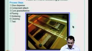Mod-07 Lec-34 Solders; Wetting Of Solders; Flux And Its Properties; Defects In Wave Soldering