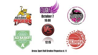 A3 Basket vs Olimpia Grodno – EWBL 2018/19