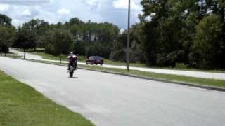 7. 2006 Kawasaki Ninja 650r wheelie 2