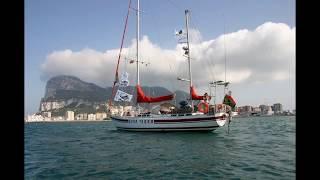 s/y BONA TERRA crosses the Atlantic Ocean on the way to Rio de Janeiro, s/y BONA TERRA w drodze do Ameryki Południowej.