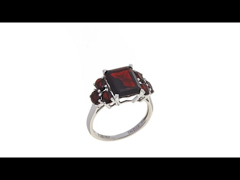"Colleen Lopez ""Lasting Moments"" 4.84ctw Garnet Ring"