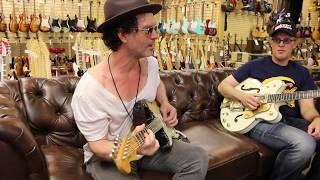 Video Joe Bonamassa & Doyle Bramhall II on the couch with Norm at Norman's Rare Guitars MP3, 3GP, MP4, WEBM, AVI, FLV Maret 2019