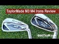 Golfalot TaylorMade M3 M4 Irons Comparison Review