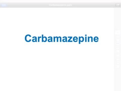 USMLE: Medical Video Lectures Pharmacology about Carbamazepine by UsmleTeam