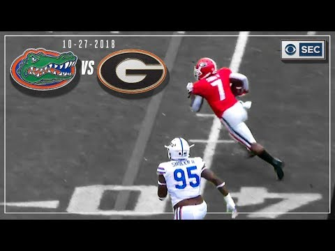 Video: Florida vs. Georgia 2018: Bulldogs Take Care of Business