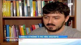 Antena 1 - Copiii care invata de mici limbi straine (psiholog Dan Ivanescu)