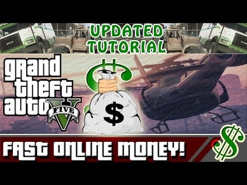 GTA 5 – How to Make Money Fast in GTA Online LEGIT! (Updated Video) (GTA V)
