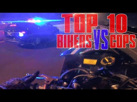 TOP 10 Motorcycle VS Police CHASE Compilation 2017 Motorcycles RUNNING From COPS Bike Chase GETAWAY