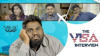 The Visa Comedy Interview  viva harsha comedy videos