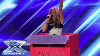 X FACTOR Blunders - Weird Gets Weirder - THE X FACTOR USA 2013