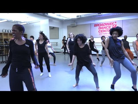 A taste of Beginner JAZZ w/ Sheila Barker | CLASS FOOTAGE | #bdcnyc