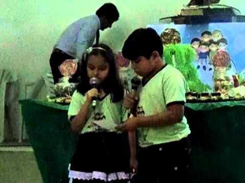 Pequeno coração - Departamento infantil Assembleia de Deus em Frei Martinho
