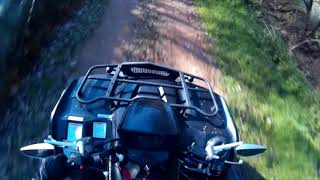 7. Ride with my Suzuki KingQuad 750