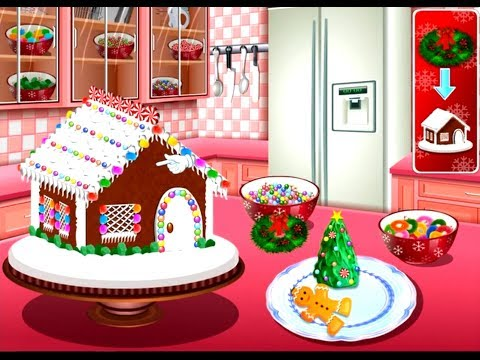 Gingerbread House : Sara's Cooking Class - Fun Cooking Games For Kids