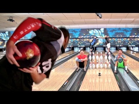 Bowling Trick Shots %7C Dude Perfect