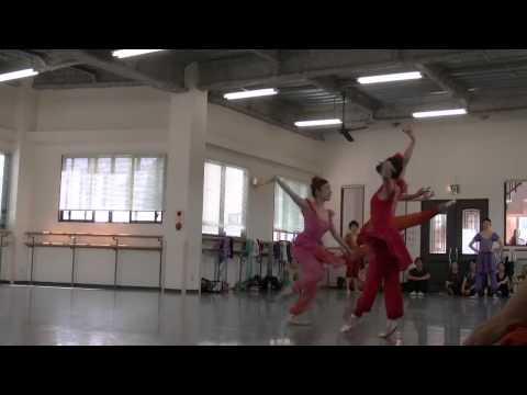 NBAバレエ団 公演リハーサル ガチョーク賛歌 2014#09