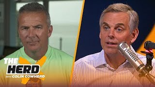 Urban Meyer thinks Dwayne Haskins is capable of starting in the NFL, talks all things CFB | THE HERD by Colin Cowherd