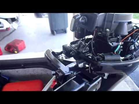 слабые места в лодочном моторе