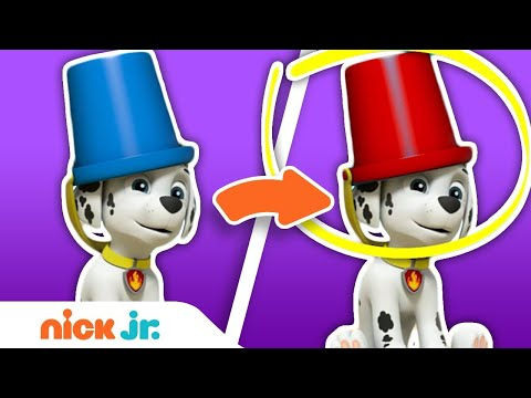 Spot the Difference Game #1 w/ PAW Patrol & Blue's Clues & You! | Nick Jr.