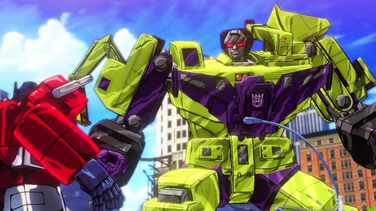 TRANSFORMERS DEVASTATION Gameplay Trailer (PS4 / Xbox One) #VideoJuegos #Consolas