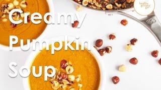 Pumpkin Soup With Toasted Hazelnuts