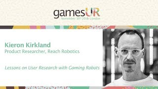 Lessons on User Research with Gaming Robots