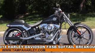 1. New 2014 Harley Davidson Softail Breakout Colors Review