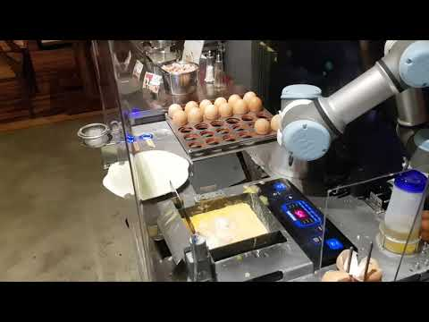 A Robot Made My Omelette!
