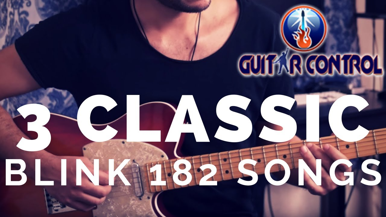How To Play 3 Classic Blink 182 Songs – Cool Guitar Lesson On Easy Songs