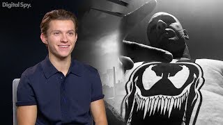 Spider-Man star Tom Holland confirms that Tom Hardy's Venom movie will exist outside of the Marvel Cinematic Universe of The Avengers, meaning that his version of the web-slinger will not face off with his comic nemesis.Follow Digital Spy on Twitter at http://twitter.com/digitalspyLike Digital Spy on Facebook at http://fb.com/digitalspyuk