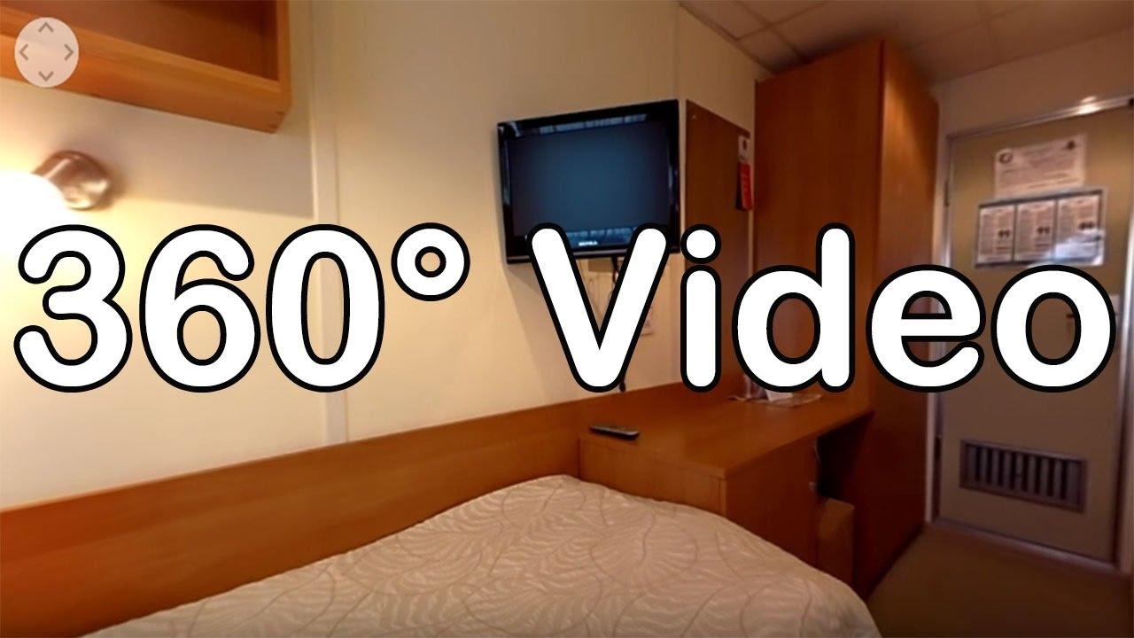 360 Grad Video: Kabine 301, Kat. F - MS Ivan Bunin