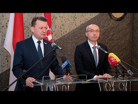 Polska i Chorwacja zacieśniają współpracę wojskową
