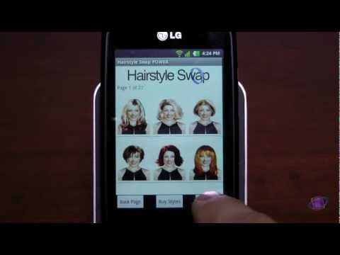 Video of Hairstyle Swap LITE