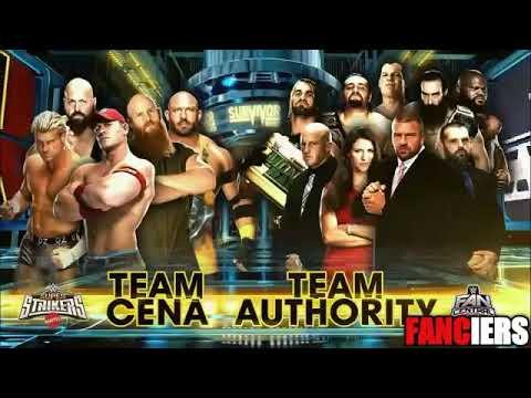 Team Cena Vs Team Authority 5 on 5 elimination tag team match survivor series 2014