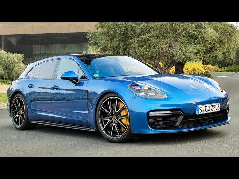 2019 Blue Porsche Panamera GTS Sport Turismo - Outstanding Performance