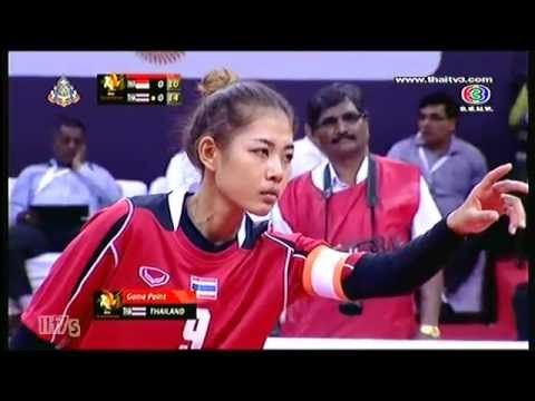 ISTAF Super Series 2013/14 Women's Final [INDONESIA - THAILAND] SET 1-2