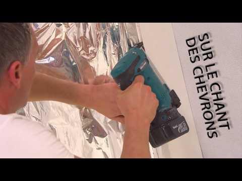 comment poser rouleau laine de verre