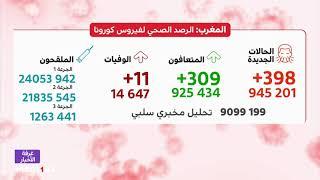 فيروس كورونا.. أزيد من مليون و263 ألف شخص تلقوا الجرعة الثالثة من اللقاح