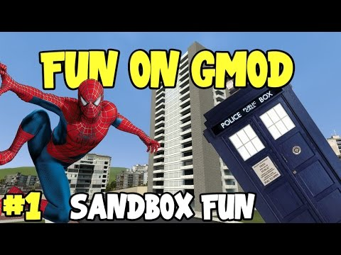 Fun on Gmod #1 - Sandbox Fun!