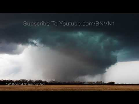 Amazing Culver City & Tescott, KS Tornado Time Lapse - 5/1/2018_Best videos: Weather in Budapest, Hungary
