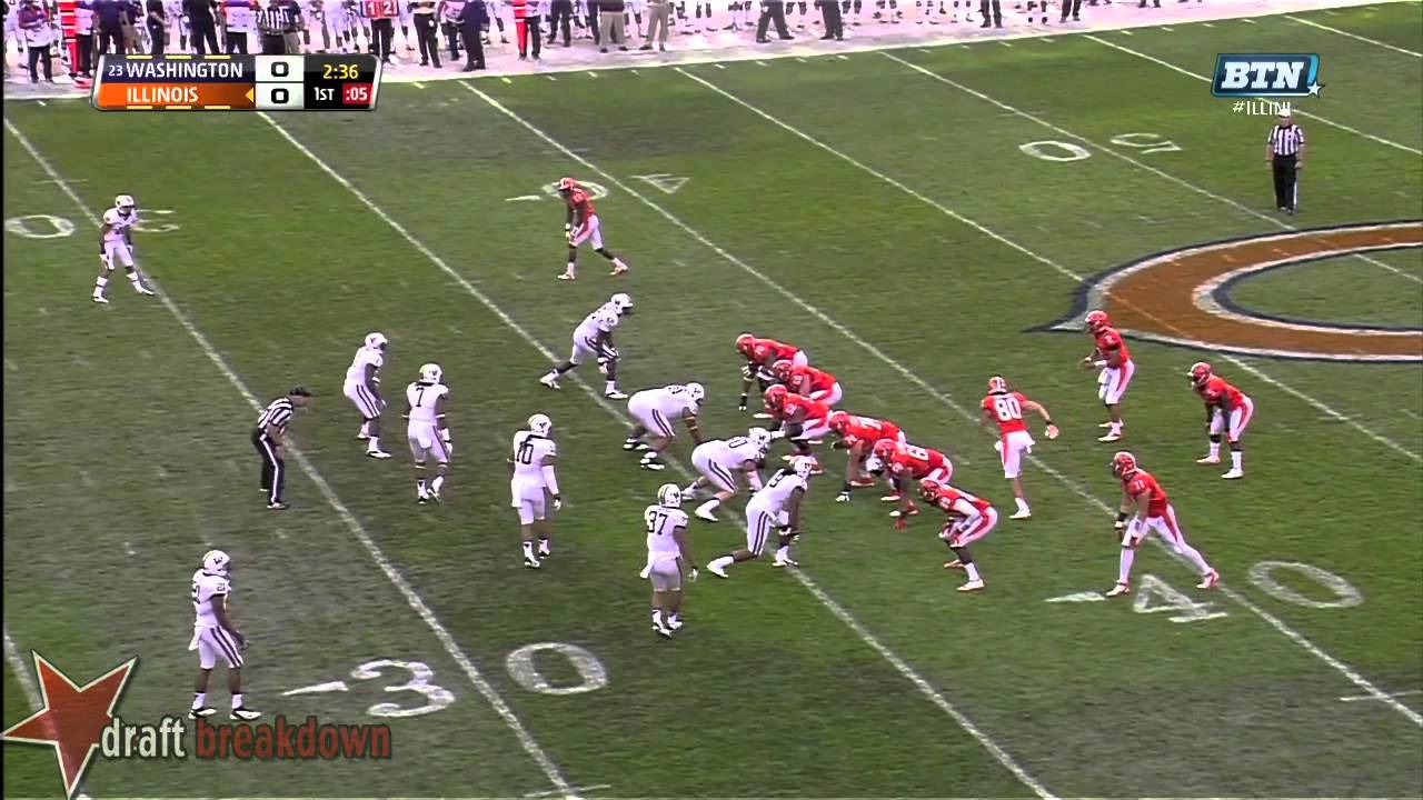 Hau'oli Kikaha vs Illinois (2013)