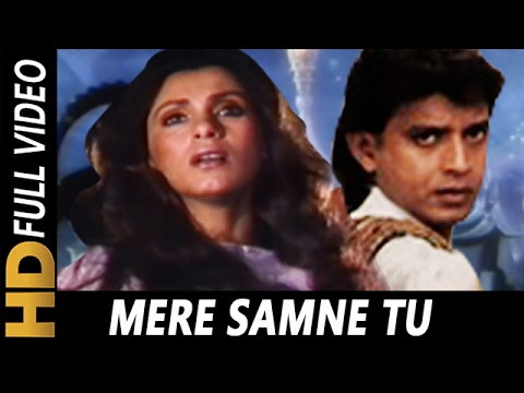 Video Mere Samne Tu Din Raat Rahe | Mohammed Aziz, Sarika Kapoor | Bees Saal Baad 1988 Songs | Mithun download in MP3, 3GP, MP4, WEBM, AVI, FLV January 2017