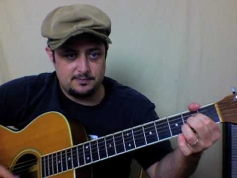 Southern Blues Rock Allman Brothers Guitar Lesson – Sweet Melissa – Acoustic Guitar Lessons