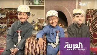 في مقطع تمثيلي كوميدي..طفلان بدويان يقومان بتقديم برنامجهم الخاص