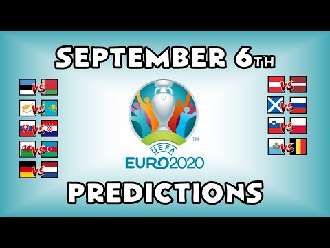 EURO 2020 QUALIFYING MATCHDAY 5 - PART 2 - PREDICTIONS