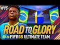 AWESOME TOTS THAT FITS MY SQUAD!! FIFA 18 ROAD TO GLORY #95