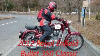 7. 2012 Royal Enfield Bullet 350 Classic in japan.wmv