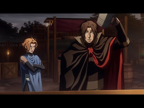 Trevor and Sypha (Beer Scene) | Castlevania Season 3